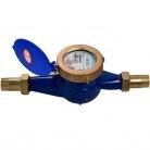 Rotor liquid seal cold (hot) water meter